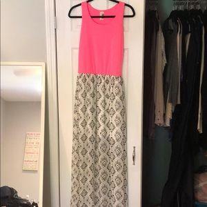 Maxi dress from Francesca's.